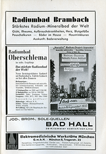 Ads from the Reich Medical Calendar 1937
