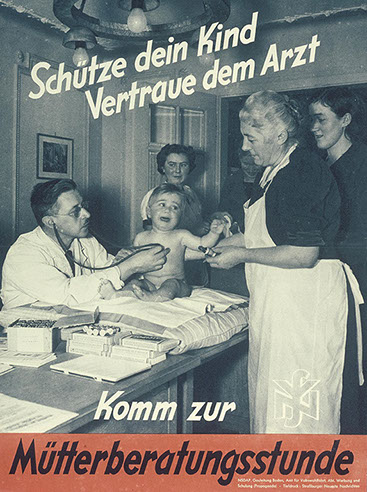 Protect your child, trust your physician (1940–44)